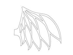 WARPAINT and Unicorns: Kurai Stain Glass Dragon Wings Tutorial - cut out template for a t shirt design? Unicorn Wings, Dragon Scale, Dragon Wing, Dragon Tea, Paper Pot, Polymer Clay Dragon, How To Make Clay, Stencil Templates, Stencils