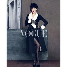 Jun Ji Hyun for VOGUE Korea magazine found on Polyvore
