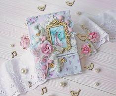 Inspiruje Anastasiya: romantyczne kartki - Inspirations from Anastasiya: romantic cards Tiny Miracles, Romantic Cards, Vintage Cards, Cardmaking, Coin Purse, Decorative Boxes, Inspiration, Design, Biblical Inspiration