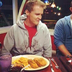 """@SOREN_LTD does not like the food."" -- Katie Willert on Instagram #AfterHours"