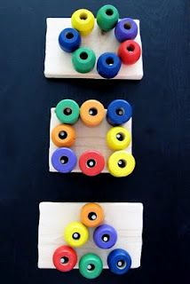 Pegboard shapes