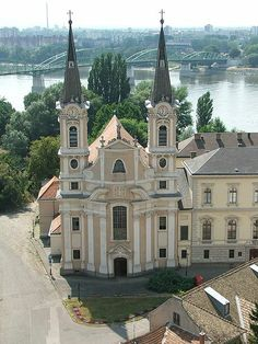 Church in Esztergom-Víziváros (Watertown), Hungary. Budapest, Malta, Renaissance, Heart Of Europe, Danube River, Baroque Architecture, Central Europe, Bratislava, Krakow