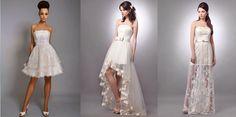 Короткие свадебные платья http://sovjen.ru/korotkie-svadebnye-platya  Короткое свадебное платье-это нечто выходящее из рамок обыденной моды невесты. Не стоит бояться совершенства и новинок в свадебных тенденциях, именно поэтому короткие платья для невест обрели большую популярность с 2011 года. Эти новинки потрясли весь мир своей необычностью, нежностью, минимизированными и утонченными элементами украшений. К тому же, короткий фасон свадебного платья довольно не жаркий и ...