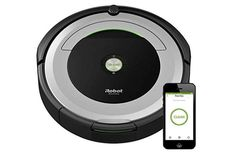 iRobot Roomba 690 Robot Vacuum with Wi Fi Connectivity New College, Back To School Essentials, High Tech Gadgets, Clean Microfiber, Works With Alexa, Clean House, Wifi, Cool Things To Buy, Vacuum Cleaners