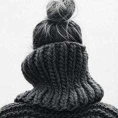 winter --- chunky --- knit