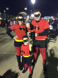 Our family incredibles costumes put together/made by me ) & Incredibles Costume Tutorial | Halloween | Pinterest | Incredibles ...