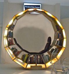 Le meilleur salon de lecture avec la pièce de livres en magasin