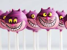 Cake Pops als Grinsekatze !!