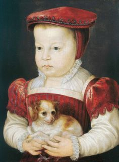 Portrait of Hercule-François, Duke of Alençon, Anjou and Brabant (1555-1584)