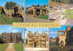 Cotswold Heritage multiviews Rollright Stones The Gateway Stanway Sudeley Castle…
