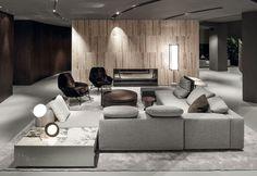 Lo showroom Minotti Shanghai è stato realizzato in collaborazione con Domus Tiandi, già partner Minotti per il flagship store Minotti Pechino