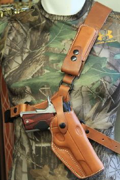 Diamond D Custom Leather Guides Choice Chest Holster-SR