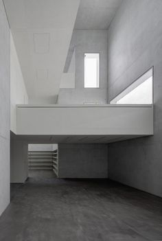 The interior of the Moholy-Nagy residence. Image courtesy of the Bauhaus Dessau Foundation. Image © Christoph Rokitta