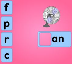 Starfall phonics games for SMARTBoard  |  Choose the sound combinations that you are working on in class!