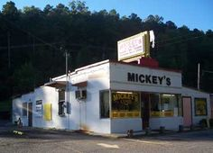 Mickey's BBQ in Hot Springs, Arkansas - Great BBQ, pot-o-beans and hickory smoked potatoes