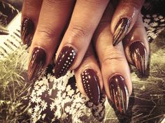 autumn opi by iheartpolished - Nail Art