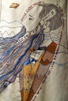 Frieda Oxenham: The Great Tapestry of Scotland Beaded Embroidery, Hand Embroidery, Dundee, Beautiful Words, Textile Art, Fiber Art, Scandinavian, Scotland, Textiles