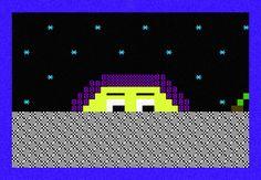 PETSCII space disco - fasswaffles