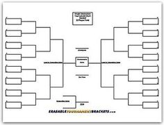 Elimination Bracket Template  Teams  Google Search  Scouts
