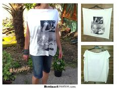 Bettinael.Passion.Couture.Made in france: DIY patron Tee-shirt ultra facile à faire