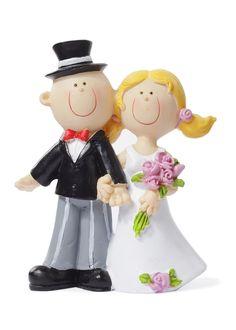Hochzeitsfigur,+Brautpaar,+Tortenfigur+3870001+von+Walter+Creativ+auf+DaWanda.com