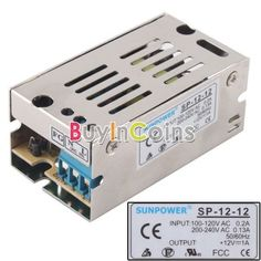 12V 1A 12W DC Switch Power Supply Driver For LED Strip Light Display #15 - 4.3$