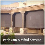 Retractable Patio Screens   Patio Sun U0026 Wind Screens