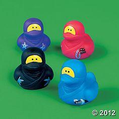 Ninja Rubber Duckies