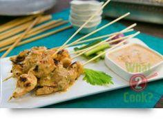 Chicken Satay with chilli & lemongrass