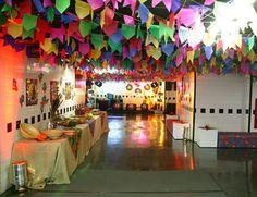 Decoração para festa Junina -Portal Tudo Aqui