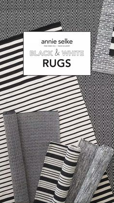 With striking stripes and graphic geometric patterns, these black rugs and white area rugs bring neutral to the next level. No matter where they lie in your house, these area rugs will give your floors a simple, natural appearance. Be sure to buy an outdoor rug to populate your porch and patio floors with these naturally neutral tones.