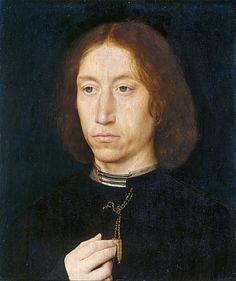 Portrait of a Man (1475-1480 ca.) by Hans Memling