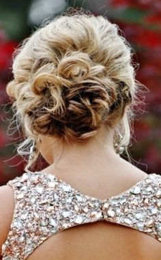 Pretty updo for prom or any other formal event!