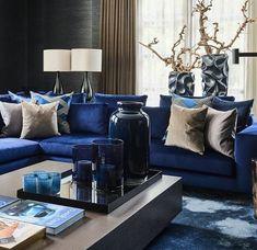 Azur Blau