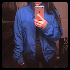 Burberry bomber zip front packaway Blouson Beautiful bomber jacket brand new comes with the bag to put it in Burberry Jackets & Coats