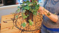 Food. Fashion. Home.: DIY Hanging Ivy Sphere
