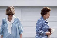 Princess Diana. Queen Elizabeth II and Princess Diana.