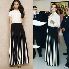 Princess Lalla Salma skirt by Ralph Lauren
