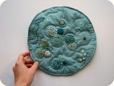 Petri Plate quilt!