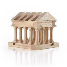 Greek Block Set - 40 piece - Beguiled Child  - 1