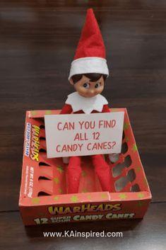 Elf Ideas Easy, Awesome Elf On The Shelf Ideas, Elf On The Shelf Ideas For Toddlers, Elf Is Back Ideas, Ideas Fáciles, Gift Ideas, Christmas Elf, All Things Christmas, Christmas Crafts