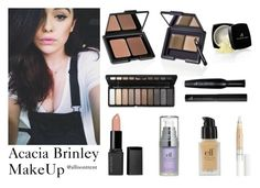 """""""Acacia Brinley MakeUp (using Elf Cosmetics)"""" by allisontrent on Polyvore featuring beauty, Brinley Co, e.l.f., Blue, makeup, elf and Acaciabrinley"""