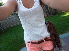 Get this look on @Wheretoget or see more #shirt #bag #shorts