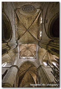 Interior Catedral de Santa María de Sigüenza, Guadalajara Spain