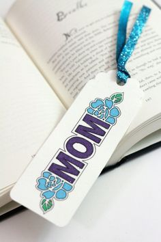 Canvas Bookmark For Mom | Analisa Murenin for Silhouette