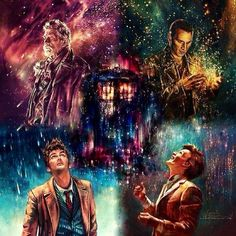 Amazing day of the Doctor art...