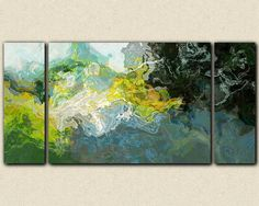 Abstract landscape canvas print 30x60 to 40x78 by FinnellFineArt, $375.00
