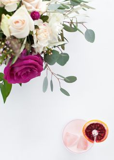 This is a grown up creamsicle, not only is it boozy, but it is comprised of great ingredients that keep it from being cloying. Sweet Cocktails, Cocktail Recipes, Romantic Night, Orange Roses, Blood Orange, Beverages, Drinks, Sugar, Plants