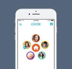 Circle control parental