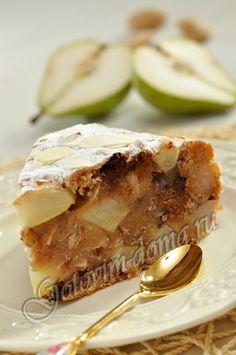 Медовый кекс с грушами (постный) фото 10